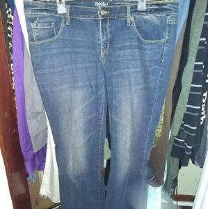 NWT! Mossimo Bootcut Jeans sz 14